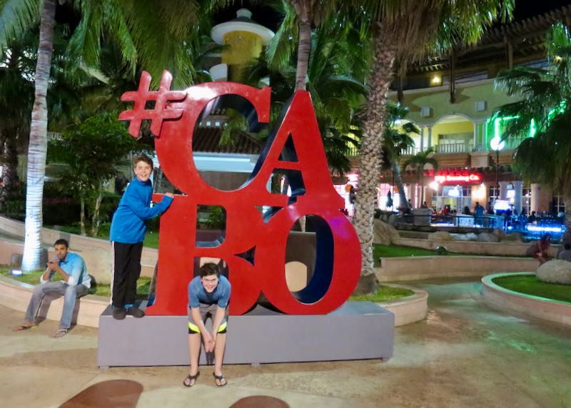 Los Cabos with kids.
