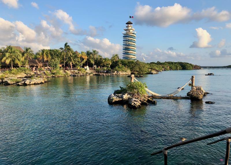 Xel Ha water park near Cancun.