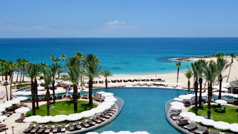Best beach hotel for families in Los Cabos.