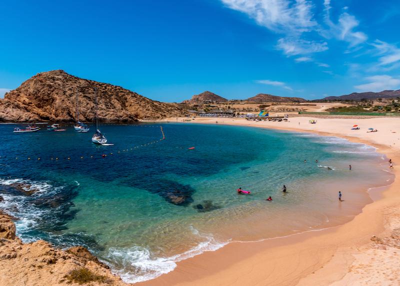 cabo beach bay