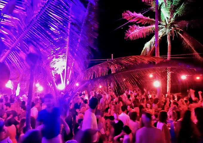 Saturday night at Papaya Playa Project in Tulum