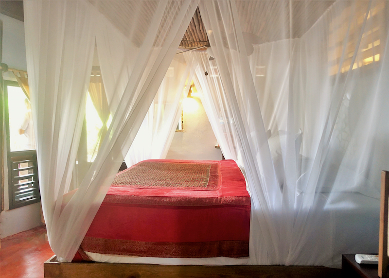 Robinson Crusoe villa bedroom